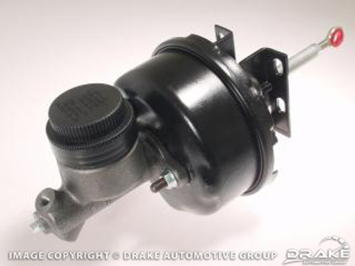 1964-1966 Ford Mustang power brake conversion, automatic transmission with drum brakes.