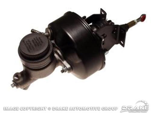 1964-1966 Ford Mustang power brake conversion, manual transmission with drum brakes.