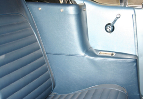 1964-1968 Ford Mustang quarter trim upholstery, convertible