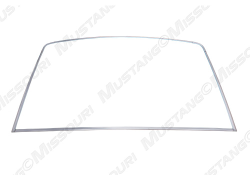 1967-68 Rear Window Molding Set Fastback