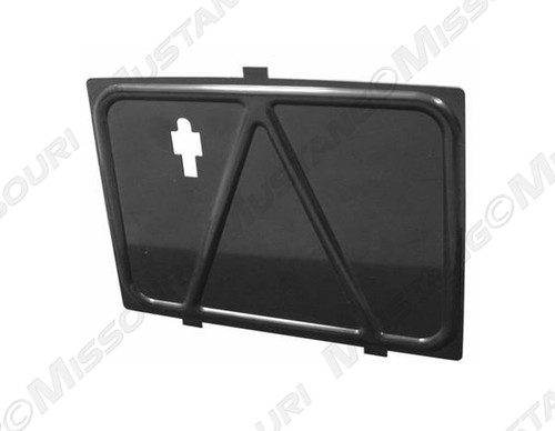 1964-66 Console Glove Box Front Panel