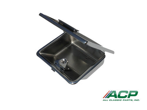 1964-1966 Ford Mustang console ashtray receptacle.