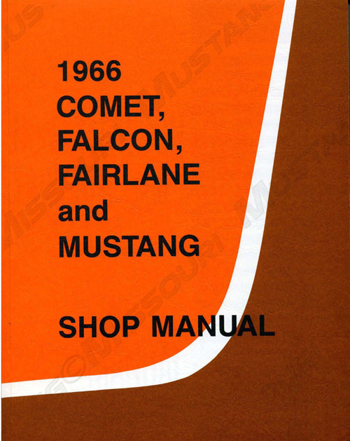 1966 Ford Mustang Shop Manual