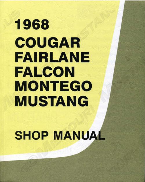 1968 Ford Mustang Shop Manual