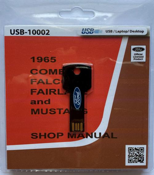 1965 Comet, Falcon, Fairlane, Mustang Shop Manual Digital Format
