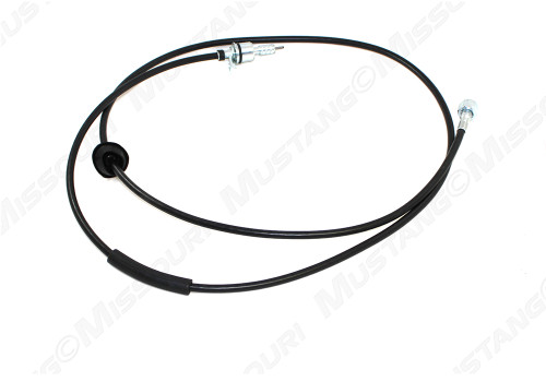 1967-1968 Ford Mustang speedometer cable, 4 speed manual transmission.  Exactly like original, grommet included.