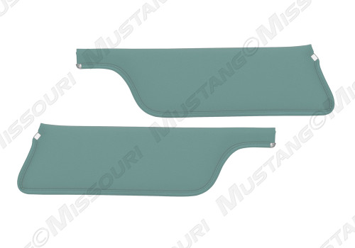1967-1968 Ford Mustang Sunvisors Coupe & Fastback