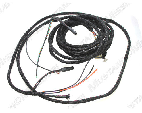 1968 Ford Mustang tail light wiring harness coupe and convertible.