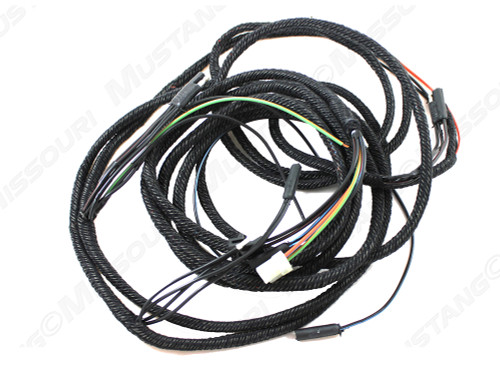 1968 Ford Mustang Tail Light Wiring Loom For Coupe Or Convertible