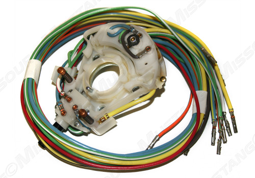 1968-69 Ford  Mustang Ignition Switch Pigtail W//O Resistor Wire