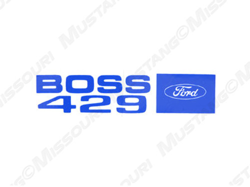 1969-70 Boss 429 Valve Cover Decals