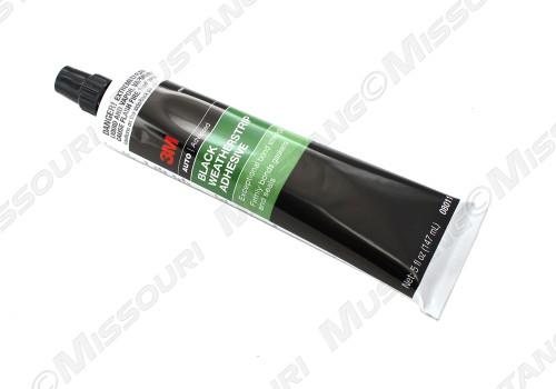 Black Weatherstrip Adhesive