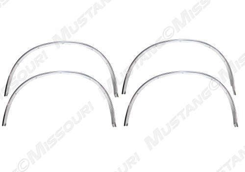 1969-1970 Ford Mustang Wheel Opening Molding Set