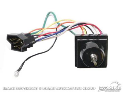 1964-66 Variable Wiper Switch Two-Speed