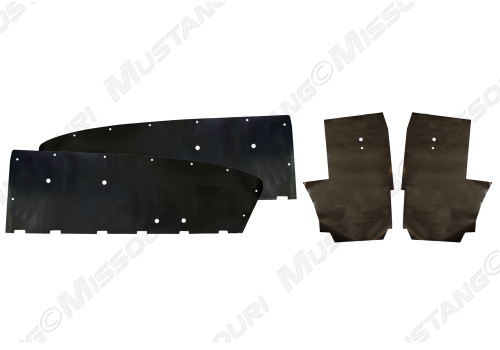 1964-1966 Ford Mustang Convertible, water shields, 4 piece set by Repops™.