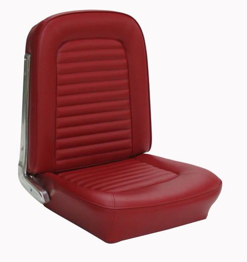 1964-1965 Ford Mustang coupe, convertible and fastback full set standard upholstery. Covers two front buckets and rear seat.