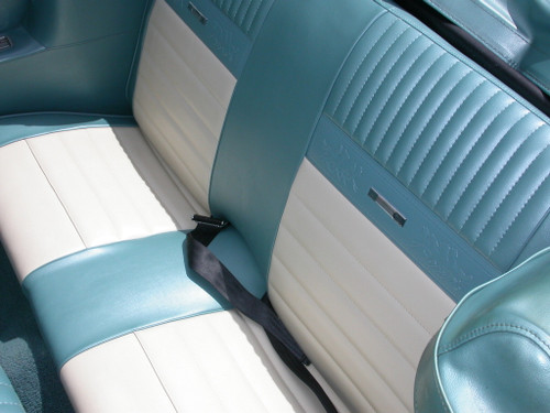Example of the rear convertible seat covers.