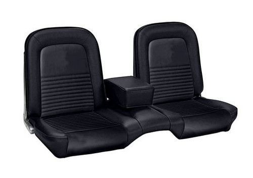 1967 Ford Mustang front bench seat cover.  Upholstery for the front only.