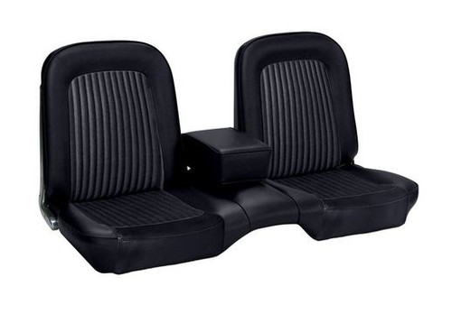 1968 Ford Mustang front seat upholstery for a standard bench.