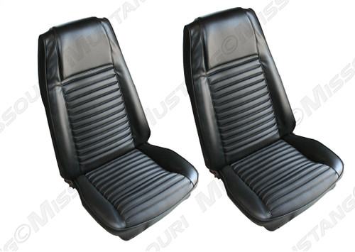 1970 Ford Mustang Mach front seat upholstery.