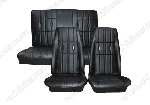 1971-1973 Ford Mustang deluxe upholstery. Deluxe buttons not included.