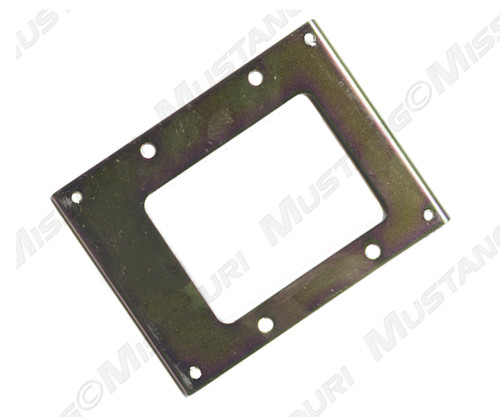 1964-1966 Ford Mustang shift plate. Used in cars without a factory console.