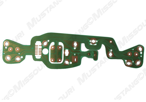 1969-1970 Ford Mustang Printed Circuit Board w/o Tach