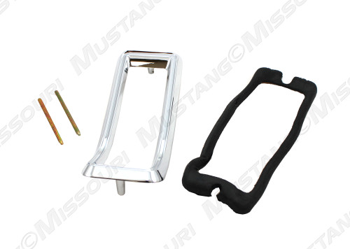 Tail light pad and screws are included with each bezel.