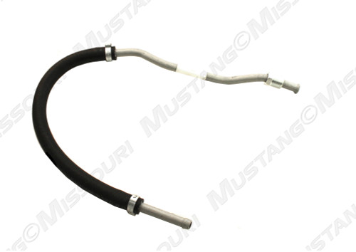 1967-1970 Ford Mustang power steering return hose 351W, 351C, 390 and 428 c.i.