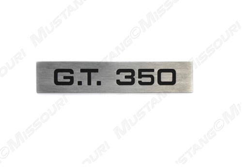 1965-66 GT 350 Taillight Panel Emblem