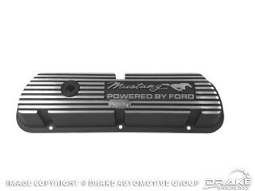 1964-73 Valve Covers Mustang Script Lettering