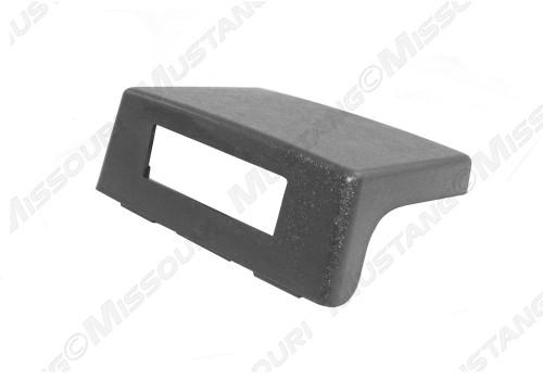 1987-1993 Ford Mustang console delete gray.