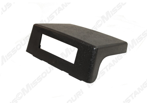 1987-1993 Ford Mustang console delete black.