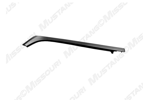 1983-1986 Ford Mustang convertible top belt molding, passenger side.