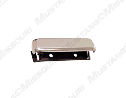 1979-1986 Ford Mustang outside door handle, chrome.