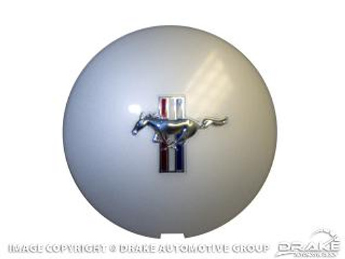 1990-1993 Ford Mustang Pony wheel hubcap, each.