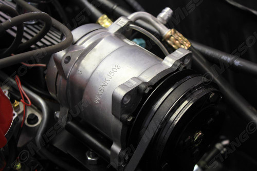 Ford Mustang Rotary Compressor Conversion