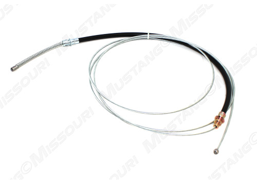1970-1973 Ford Mustang rear emergency brake cable, 8 cylinder.