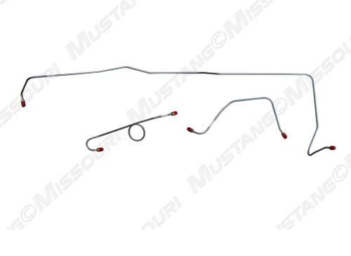 1964-1965 Ford Mustang Front Brake Line Power Brakes