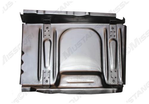 1969-1970 Ford Mustang seat riser pan (seat platform) each. Underside pictured.