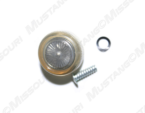 1968-1973 Ford Mustang Window Crank Knob Clear