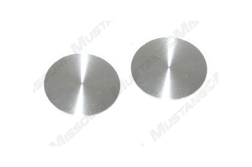 1968-1970 Ford Mustang window crank screw cover, set of two.
