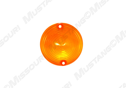 1965-1966 Ford Mustang Parking Light lens with Ford Logo