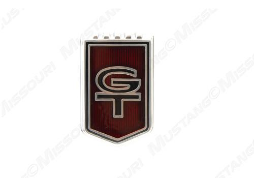 1966 GT Fender Emblem Plastic
