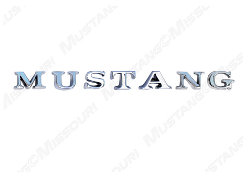 1965-71 Mustang Pin Letter Set