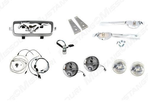 1966 Fog Lamp Conversion Kit
