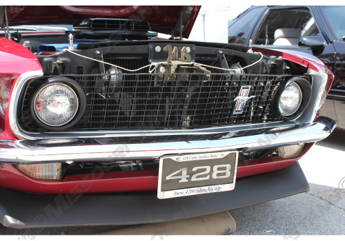 An example of an assembled 1969 grille.