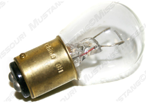 1964-1970 Ford Mustang clear backup (reverse) lamp bulb.  1142