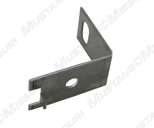 1964-1966 Ford Mustang front bumper guard mounting bracket, each.