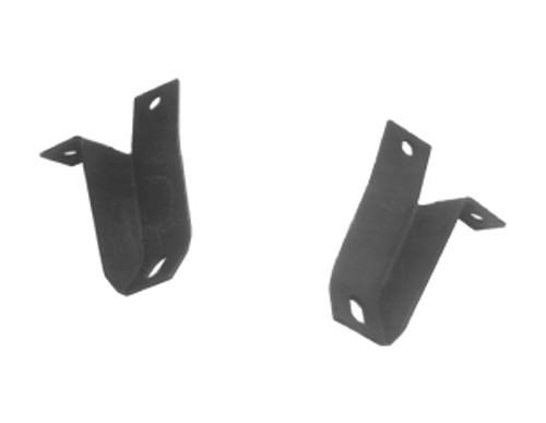 1964-1966 Ford Mustang rear bumper guard mounting bracket, pair.